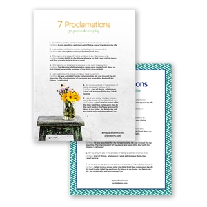7 Proclamations To Make Every Day PDF