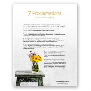 7 Proclamations To Make Every Day