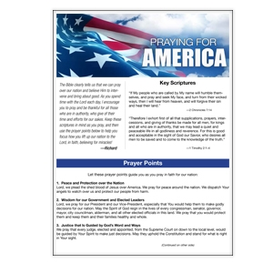 Praying for America (PDF)